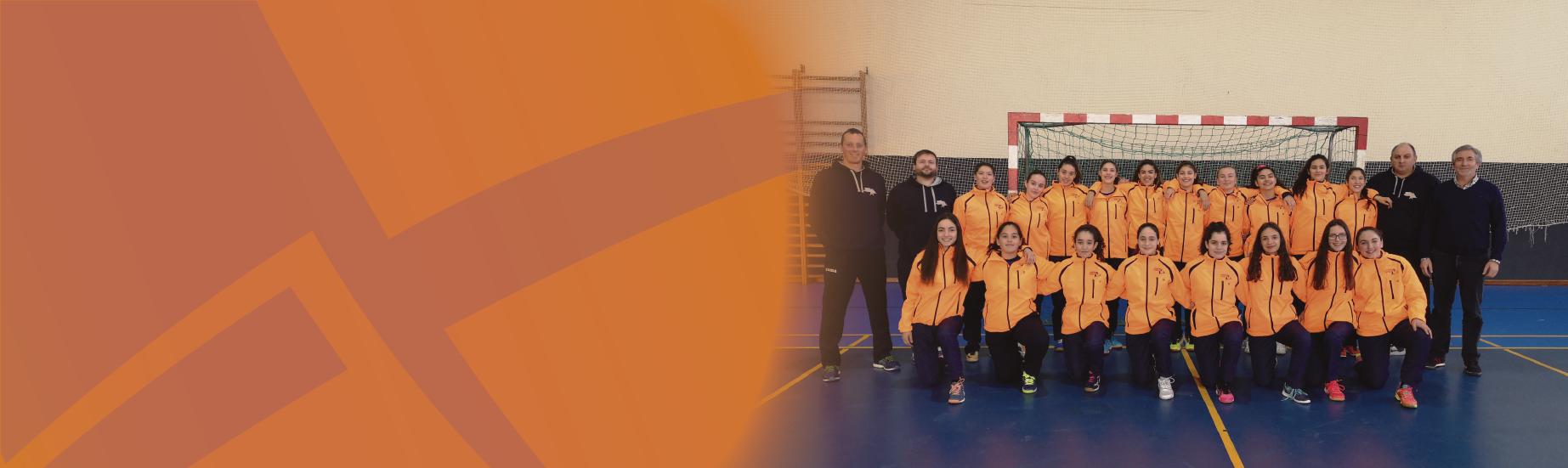Seleção Feminina da Associação de Andebol de Viseu na Fase Final do Torneio Nacional