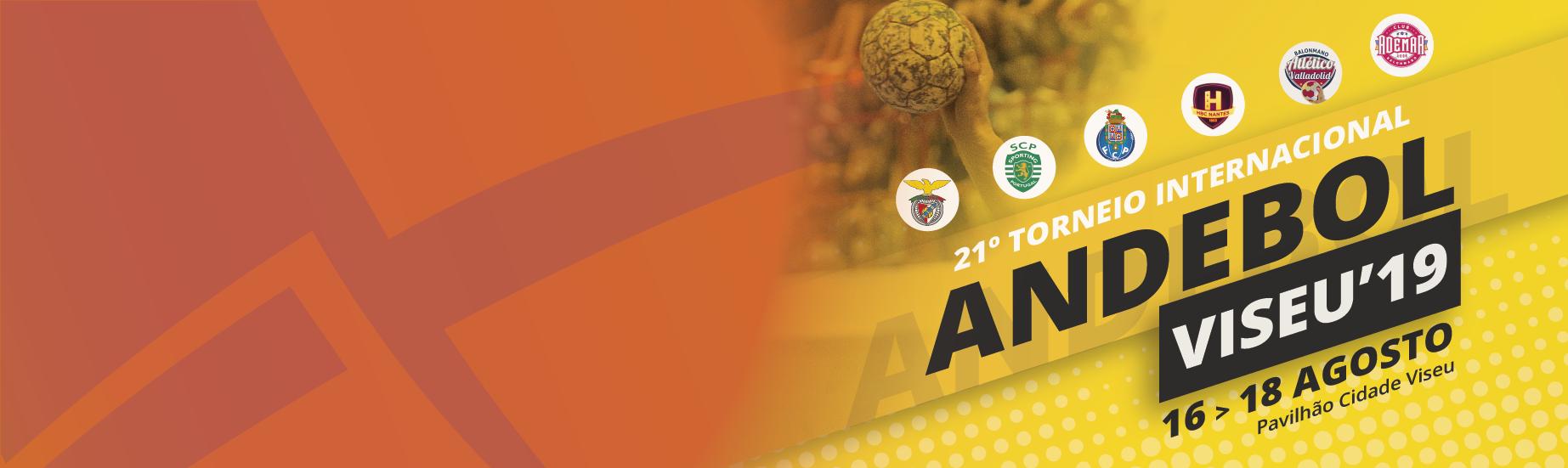 Venha assistir ao 21º Torneio Internacional de Andebol de Viseu